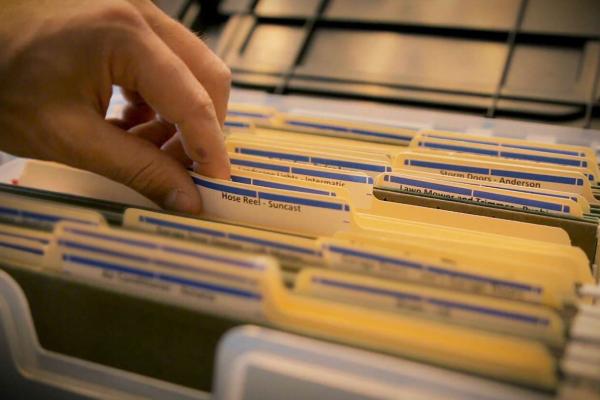 Organização e digitalização de documentos